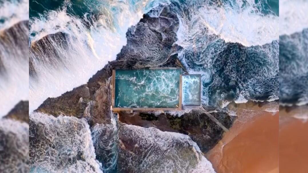 Muzyka oceanu prosto z Australii. Włącz dźwięk i odpoczywaj