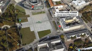 Jest zgoda wojewody na lokalizację pomnika Lecha Kaczyńskiego