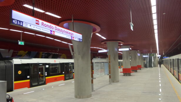 Stacja Rondo Daszyńskiego (zdjęcie ilustracyjne) Artur Węgrzynowicz / tvnwarszawa.pl