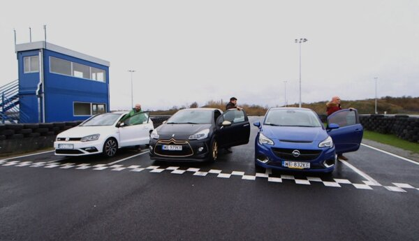 Polo GTI, Corsa OPC i DS3 Racing