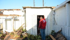 Bahamy po przejściu huraganu Dorian (PAP/EPA/IFRC HANDOUT)