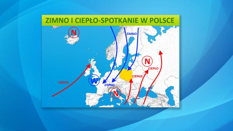 Sytuacja baryczna nad Europą