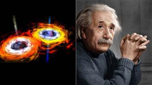 """Zauważono """"zmarszczki czasoprzestrzeni"""", teoria Einsteina potwierdzona. Polacy współautorami przełomu w astronomii"""
