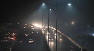 Zanieczyszczone powietrze w Nowym Delhi