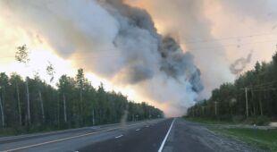 Pożary na Alasce
