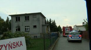 Strażak o pożarze domu