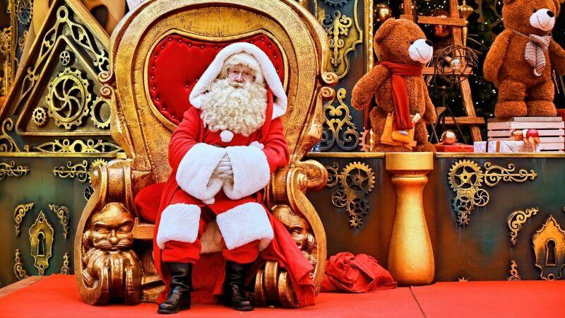 Amerykańscy Święci Mikołajowie nie zostaną zaszczepieni