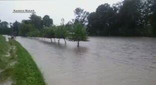 Podniesiony poziom wody w Cieszynie