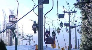 Alarm oblodzeniowy w Karkonoszach (TVN24)