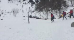 Na pomoc turystce ruszyła piesza wyprawa